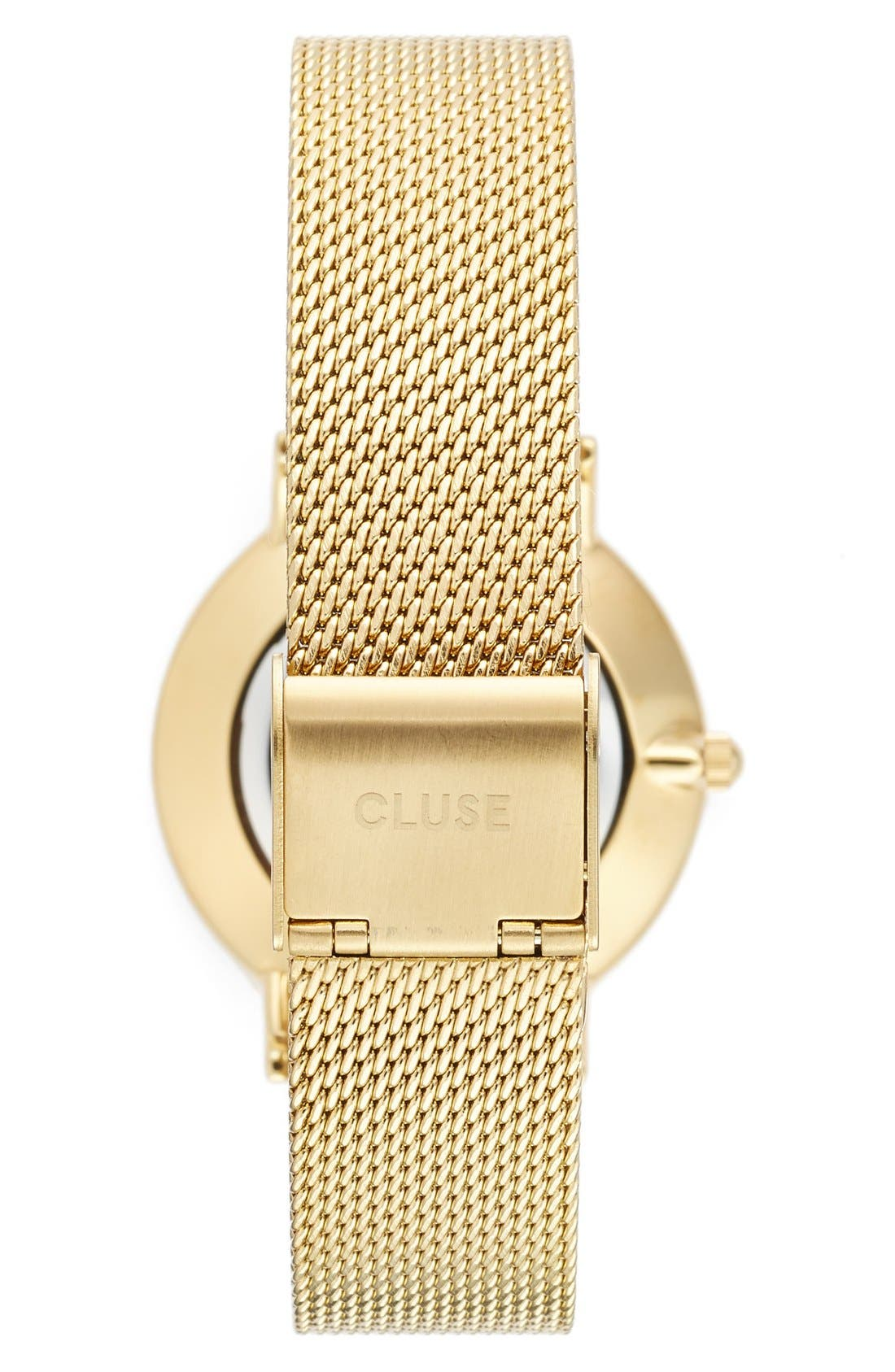 Alternate Image 2  - CLUSE Minuit Mesh Strap Watch, 33mm