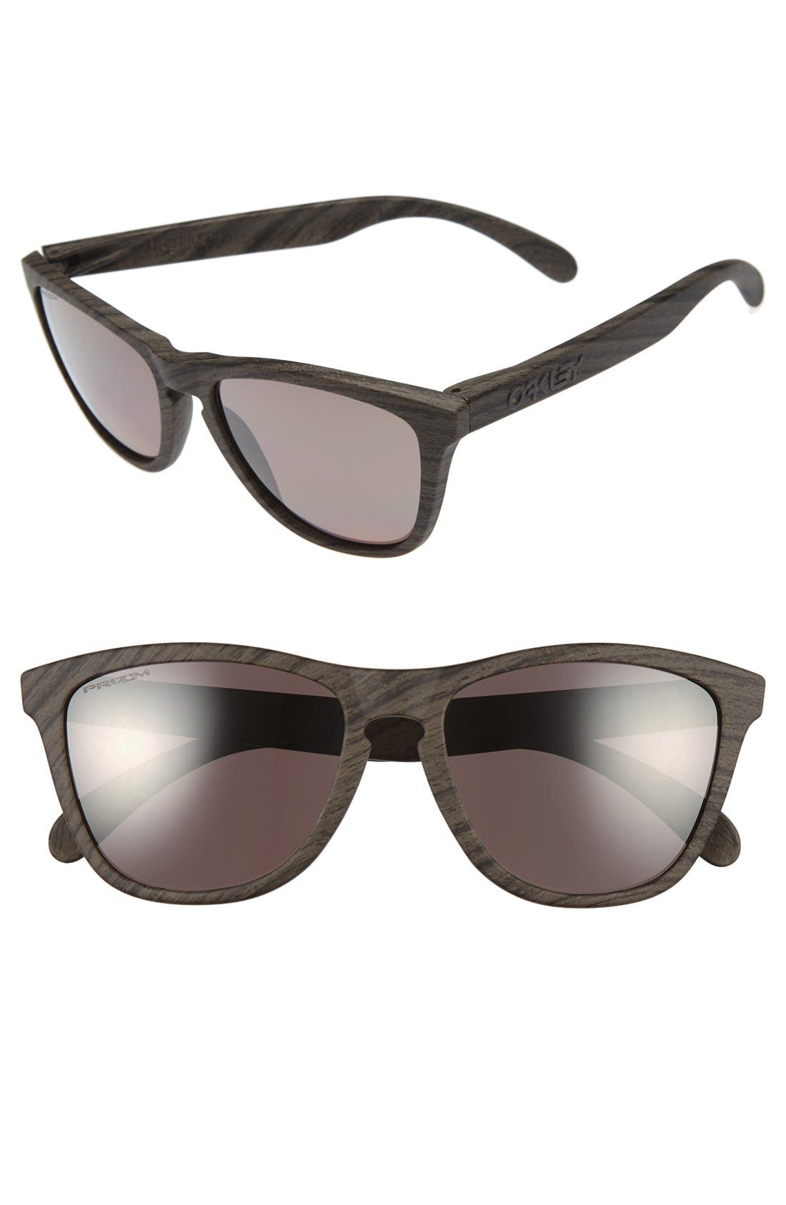'Frogskins PRIZM<sup>™</sup>' 55mm Polarized Sunglasses,                             Main thumbnail 1, color,                             Brown