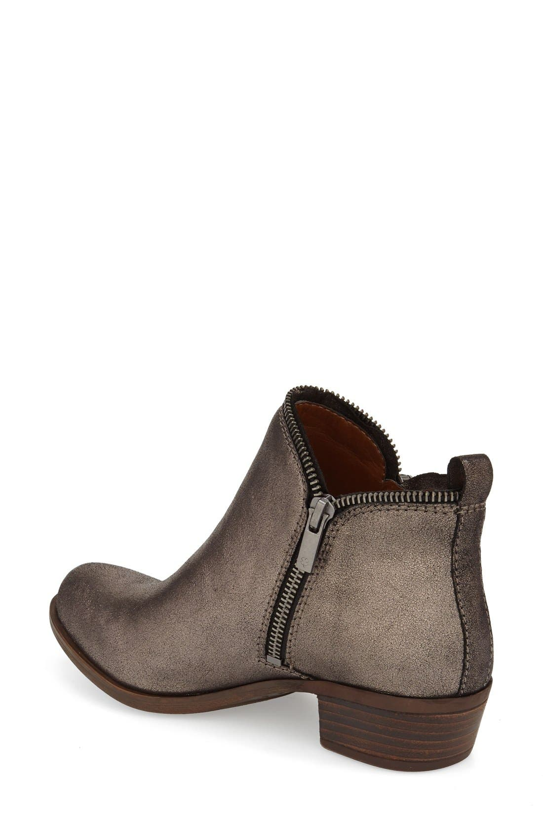 Alternate Image 2  - Lucky Brand 'Bartalino' Bootie (Women)