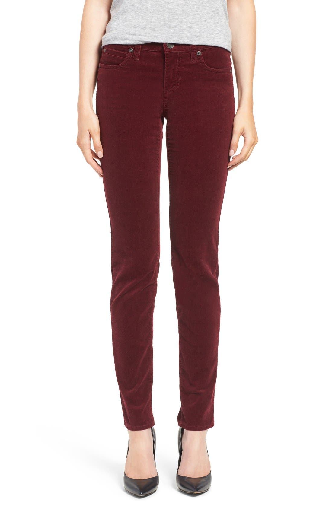 Main Image - KUT from the Kloth Diana Stretch Corduroy Skinny Pants (Regular & Petite)
