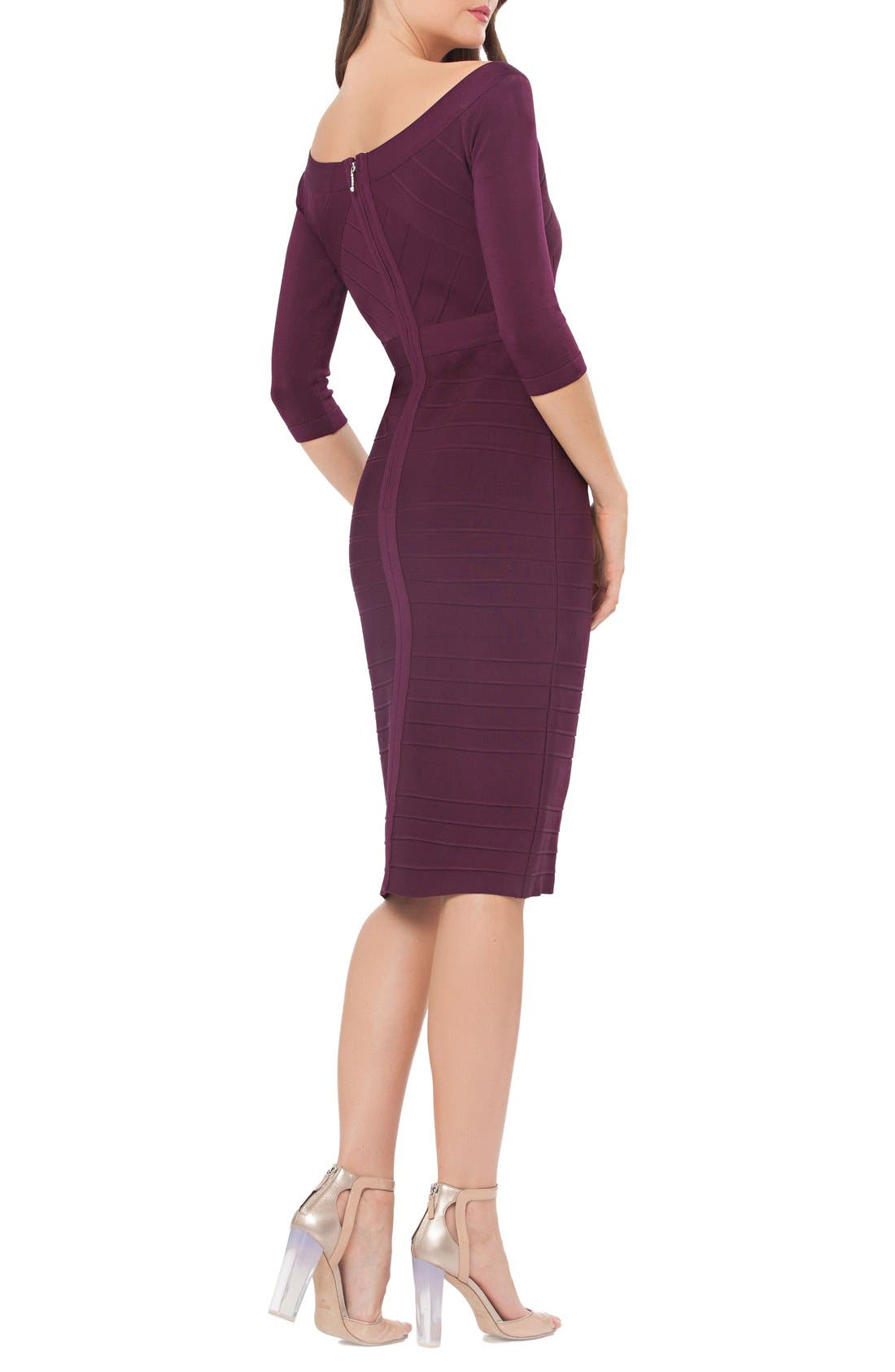 Alternate Image 2  - JS Collections Bandage Midi Dress