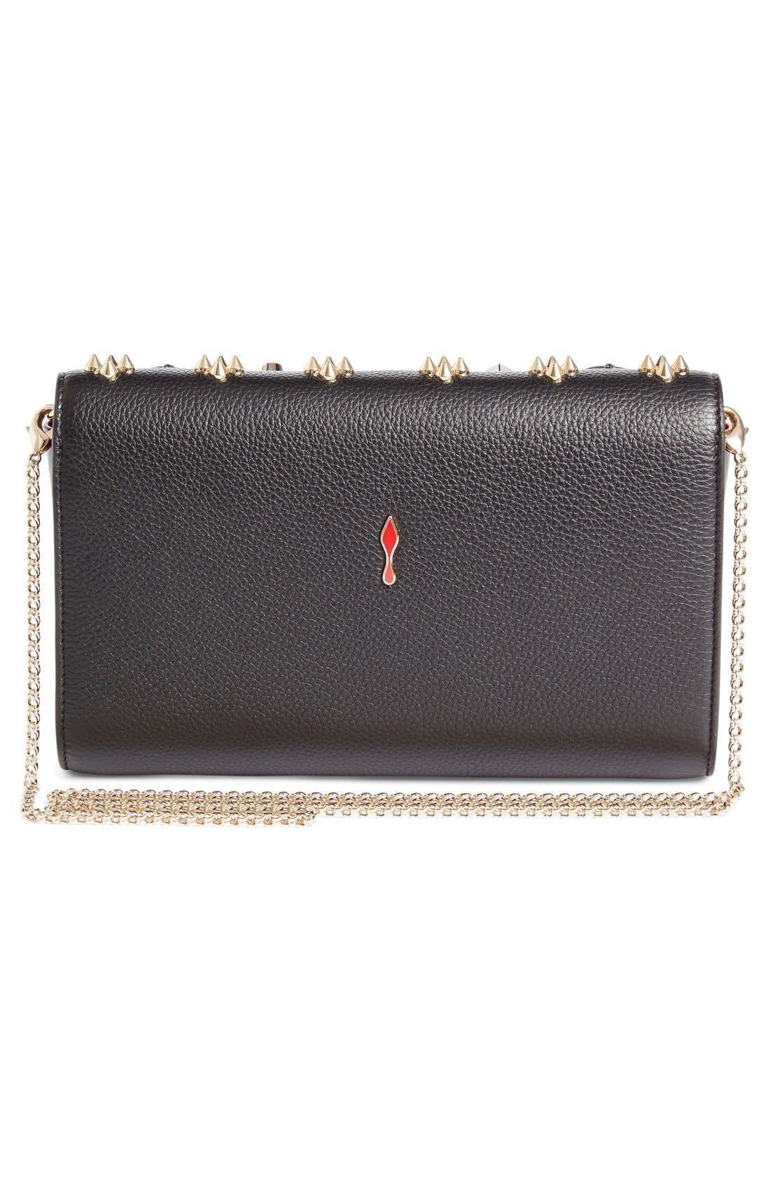 Alternate Image 3  - Christian Louboutin Paloma Empire Calfskin Clutch