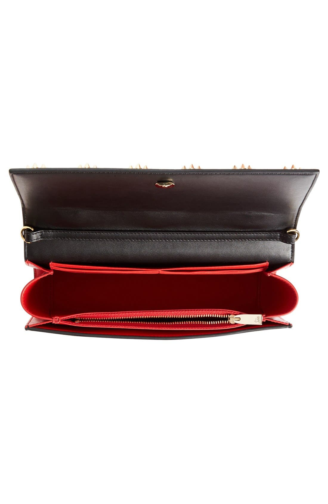 Alternate Image 4  - Christian Louboutin Paloma Empire Calfskin Clutch