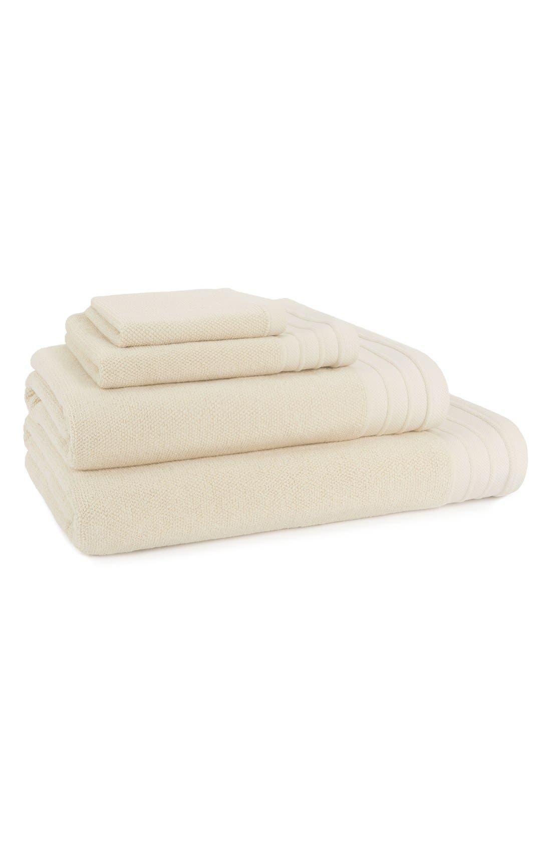 Alternate Image 2  - UGG® Classic Luxe Cotton Bath Sheet