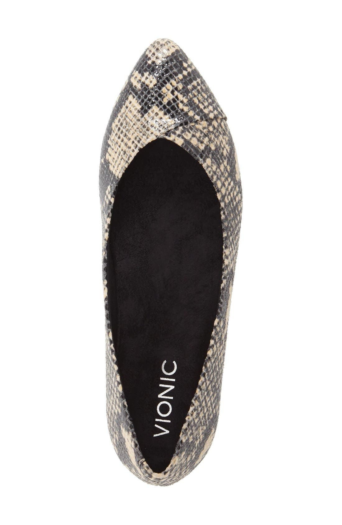 Alternate Image 3  - Vionic 'Caballo' Pointy Toe Flat (Women)