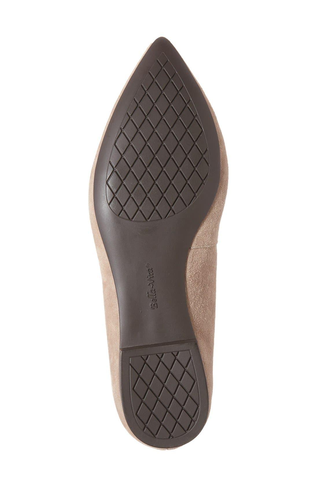 Alternate Image 4  - Bella Vita 'Vivien' Pointy Toe Flat (Women)