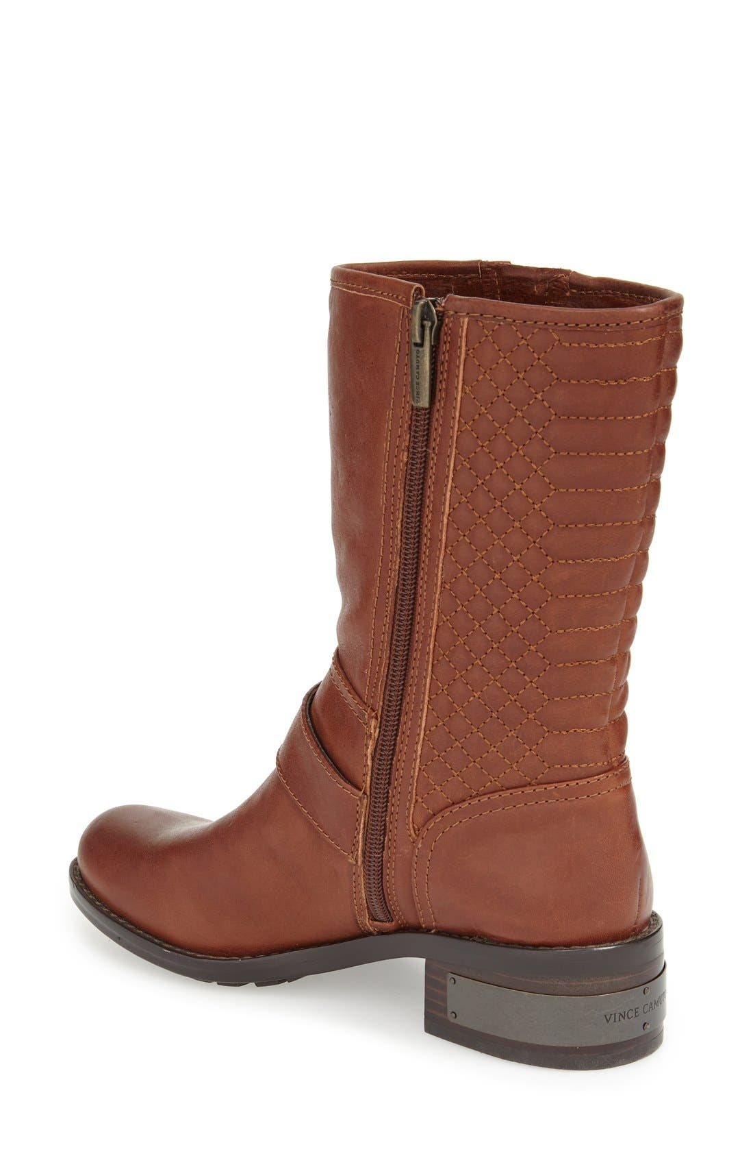 Alternate Image 2  - Vince Camuto 'Whynn' Moto Boot (Women)
