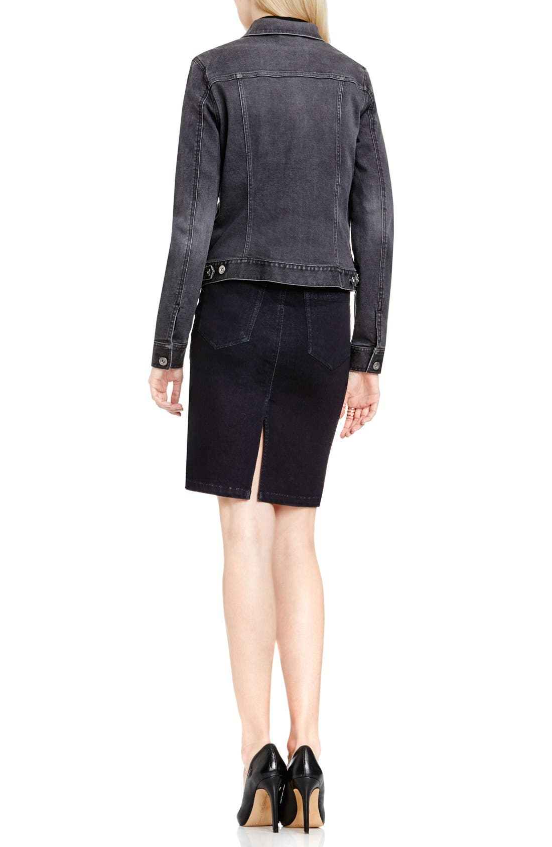 Alternate Image 4  - Two by Vince Camuto Denim Jacket