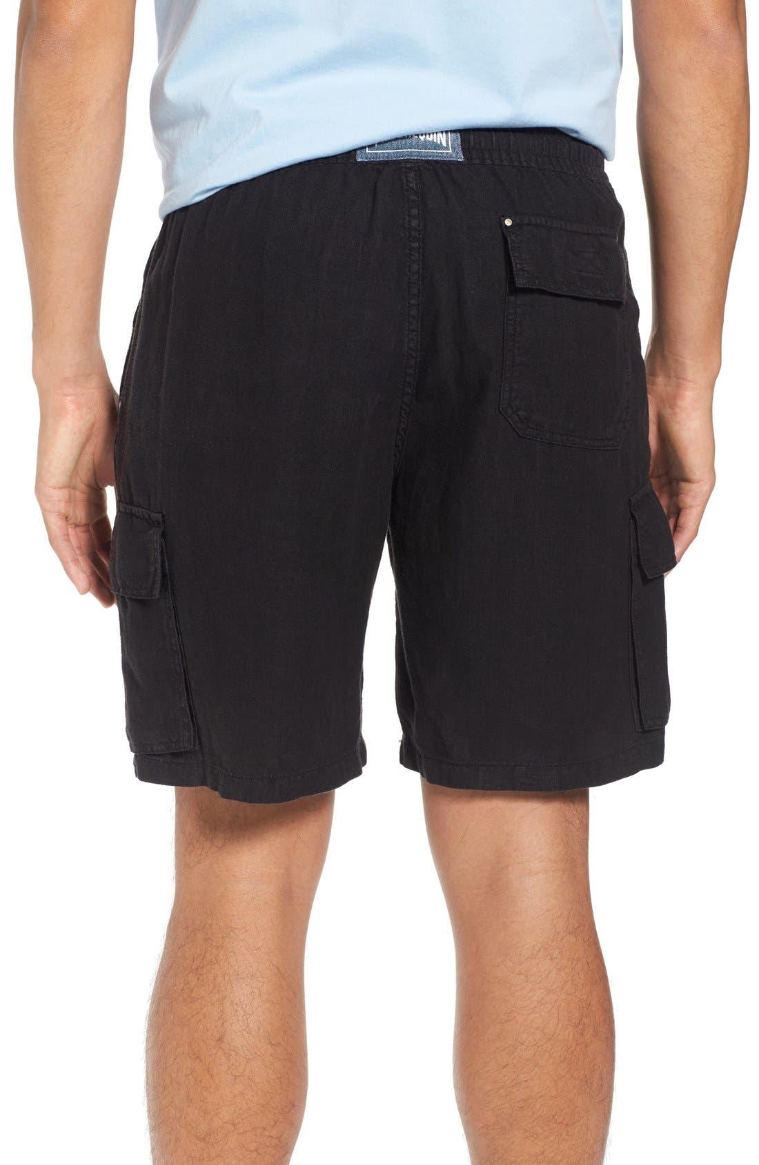 Alternate Image 2  - Vilbrequin Linen Cargo Shorts