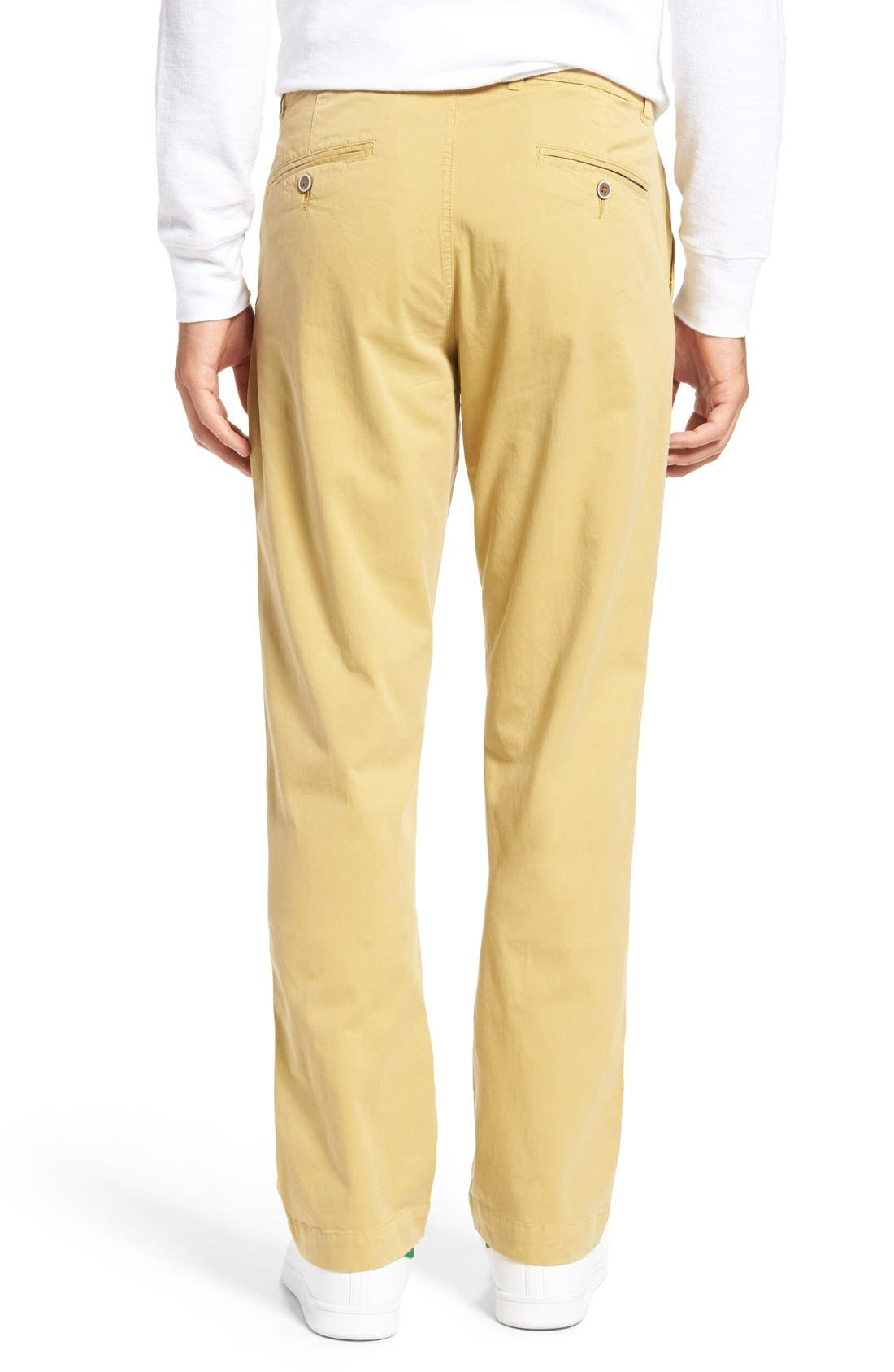 Alternate Image 2  - Vintage 1946 Sunny Modern Fit Stretch Twill Chinos
