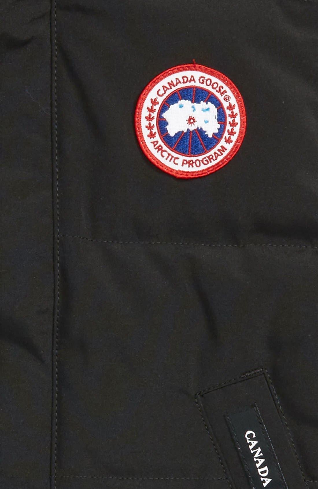 Alternate Image 2  - Canada Goose 'Vanier' Down Vest (Little Boys & Big Boys)