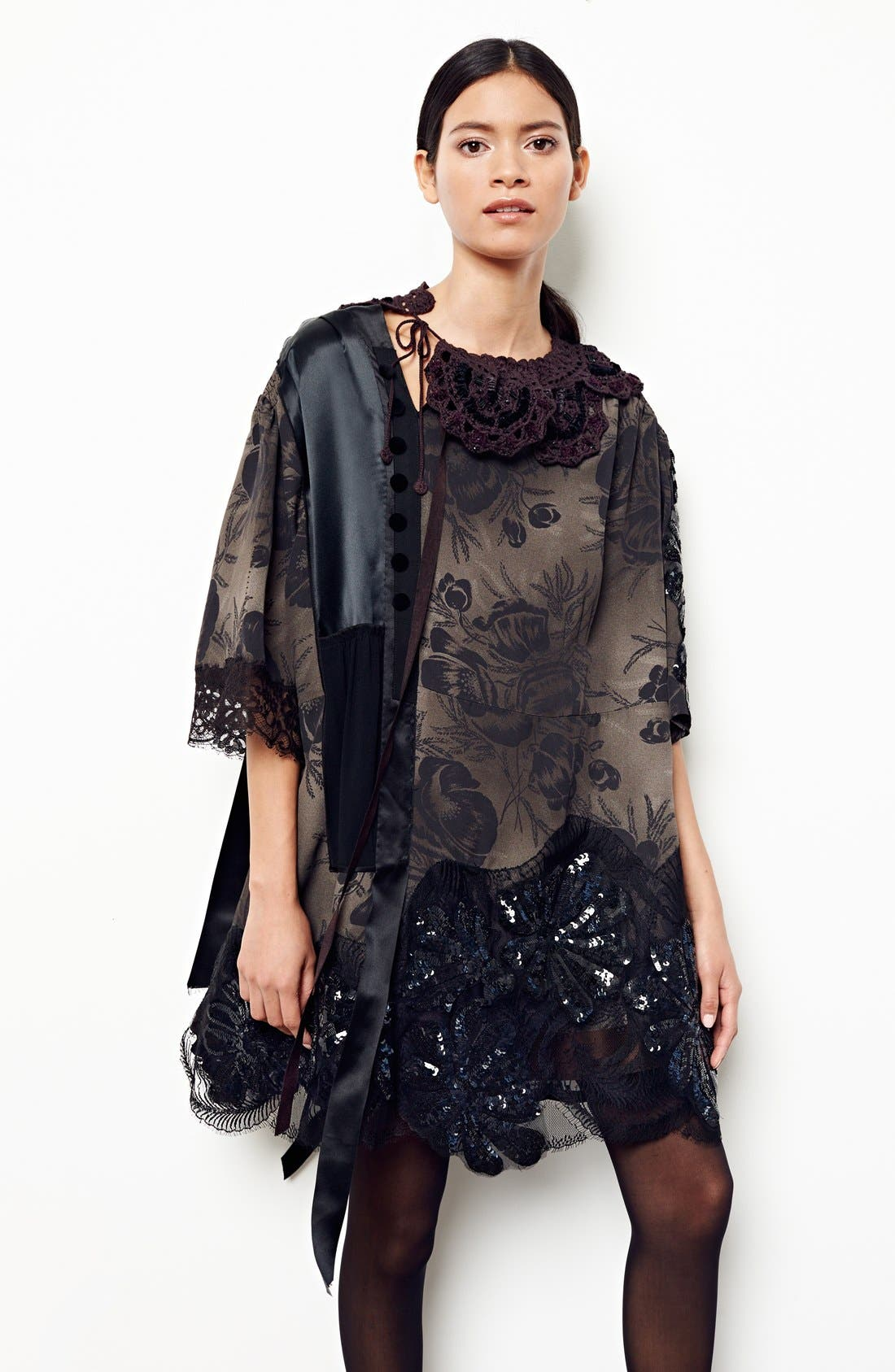 Alternate Image 7  - MARC JACOBS 'Shadow Tulip' Embellished Shift Dress