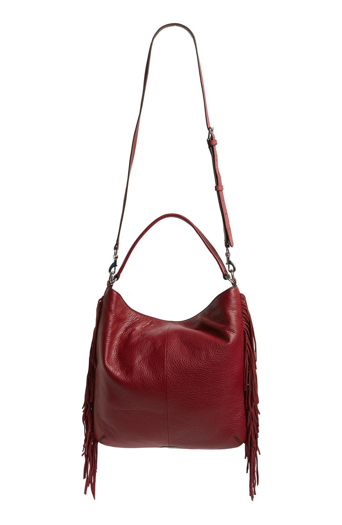 Alternate Image 4  - Rebecca Minkoff Clark Fringe Suede Hobo Bag