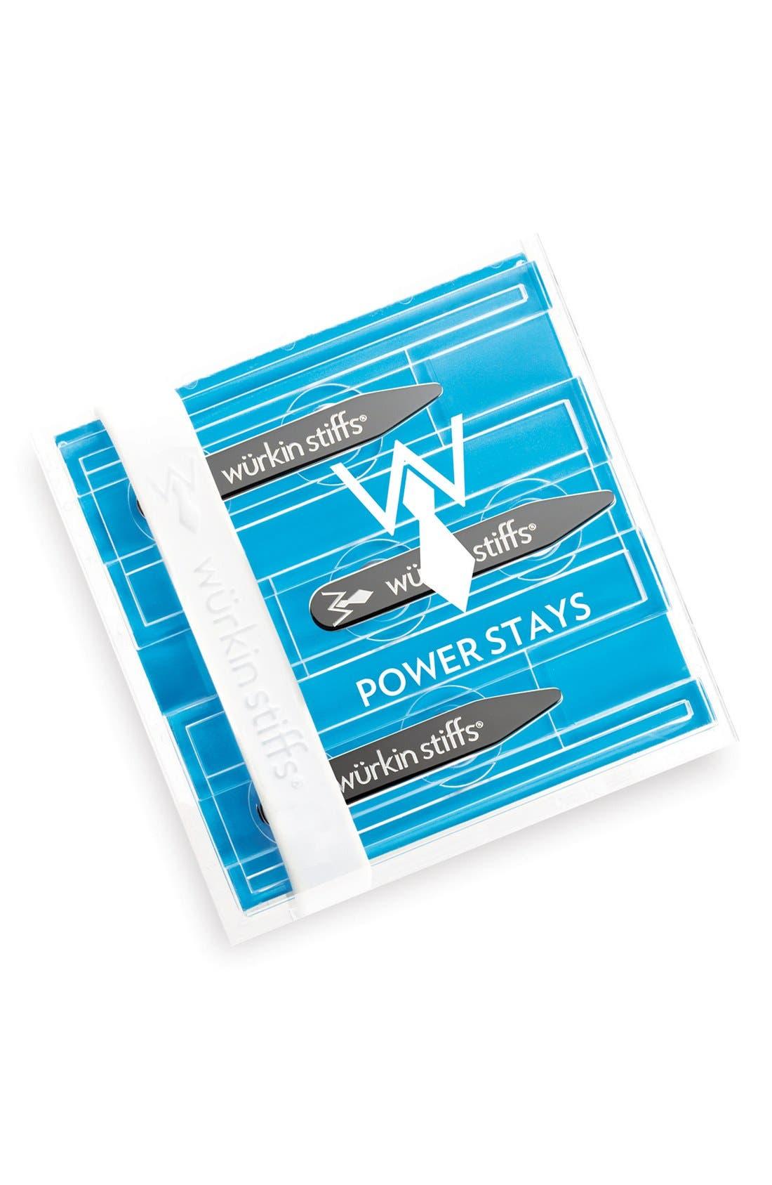 Alternate Image 1 Selected - Würkin Stiffs 'Power Stays' Collar Stays (Set of 3)