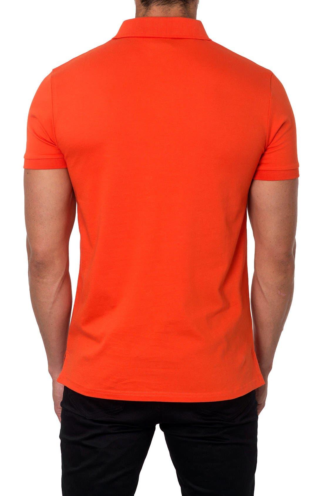 Polo,                             Alternate thumbnail 2, color,                             Orange