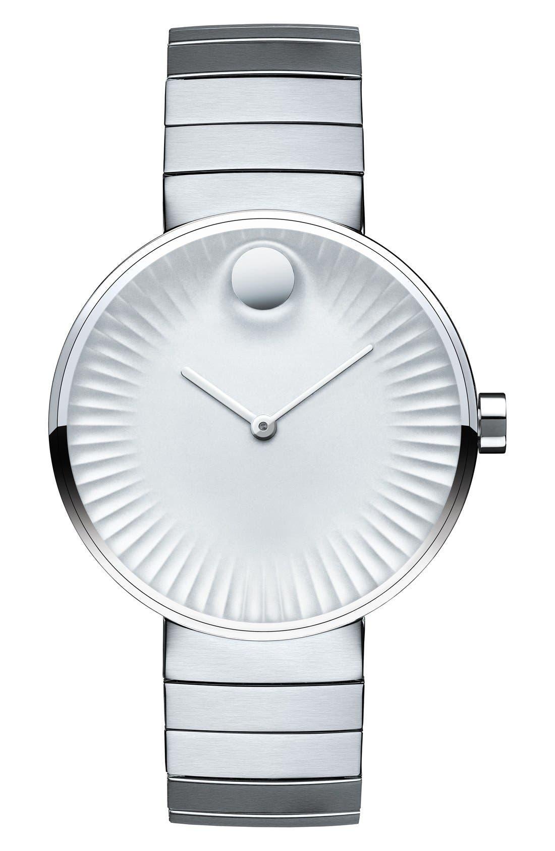 MOVADO Edge Bracelet Watch, 34mm