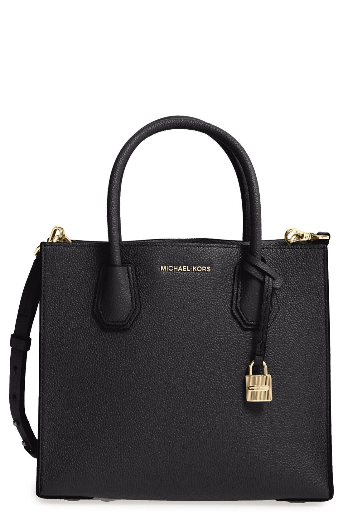 Alternate Image 1 Selected - MICHAEL Michael Kors 'Medium Mercer' Leather Tote