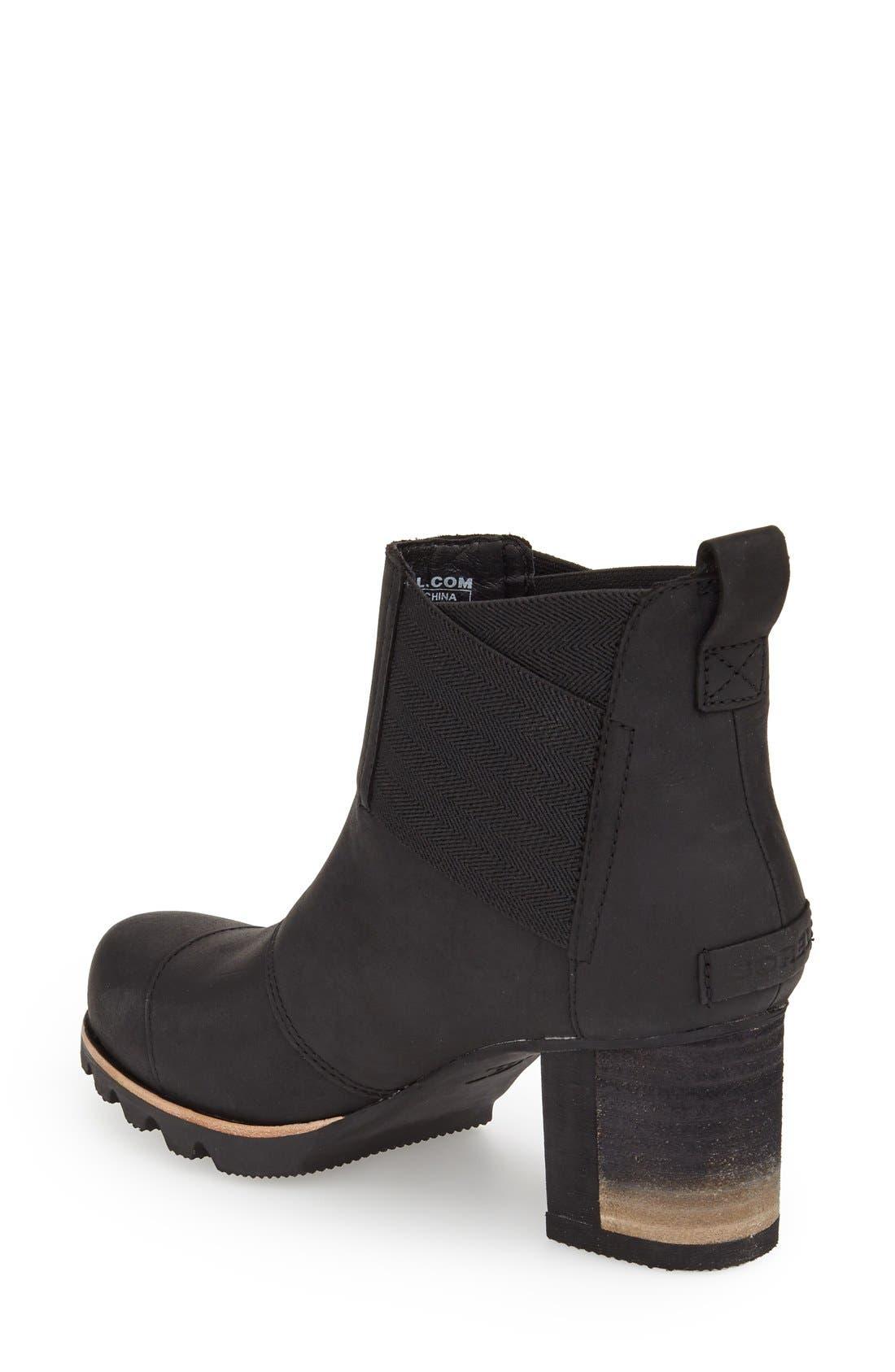 Alternate Image 2  - SOREL 'Addington' Waterproof Chelsea Boot (Women)
