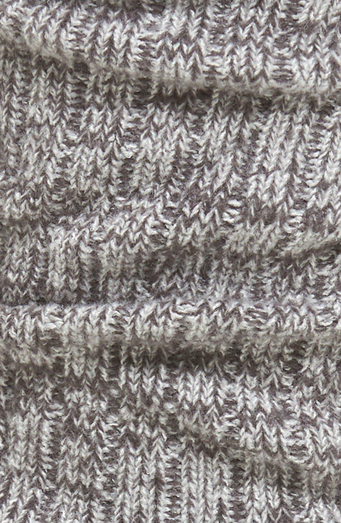 Alternate Image 2  - UGG® Ribbed Crew Socks