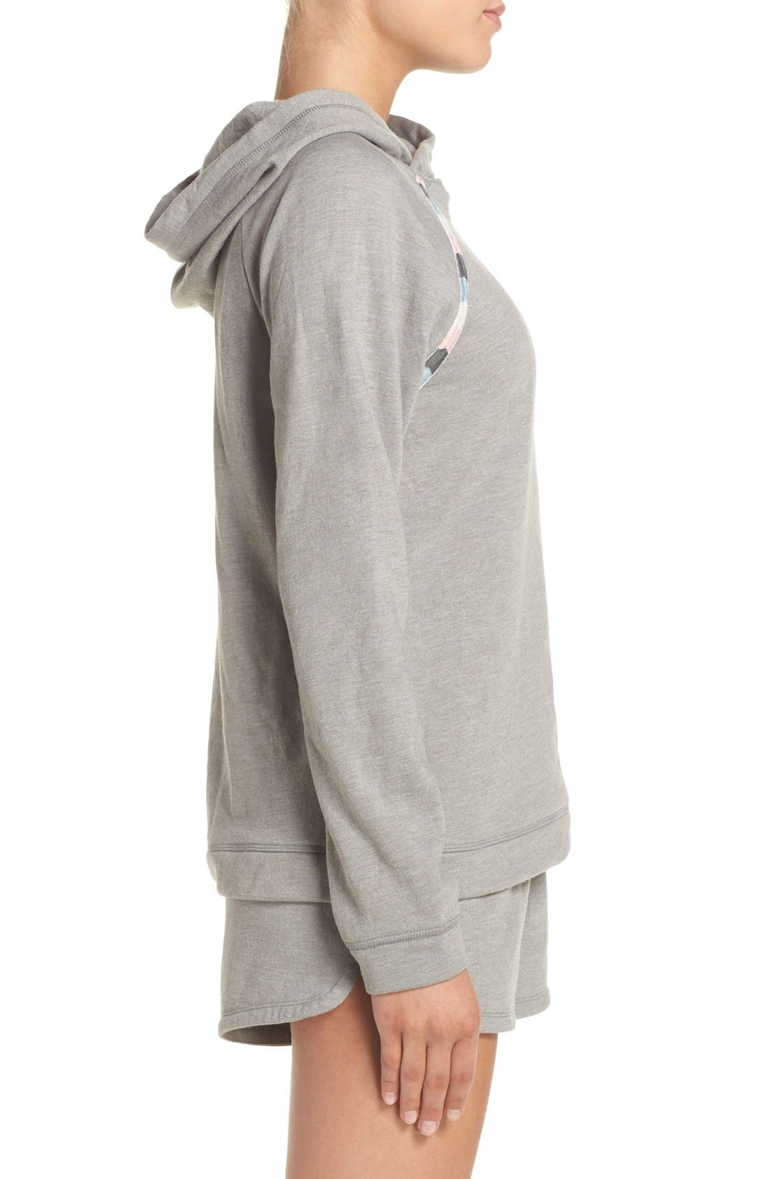 Alternate Image 3  - Lucky Brand Fleece Hoodie