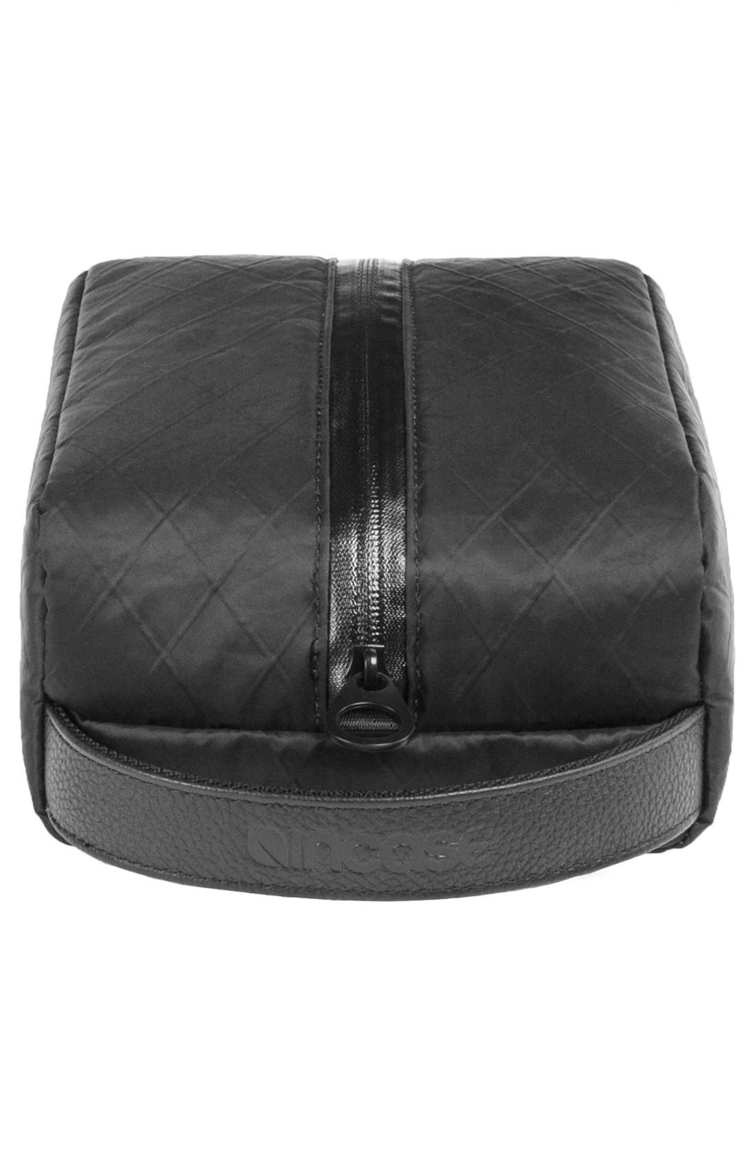 Diamond Wire Dopp Kit,                             Alternate thumbnail 7, color,                             Black