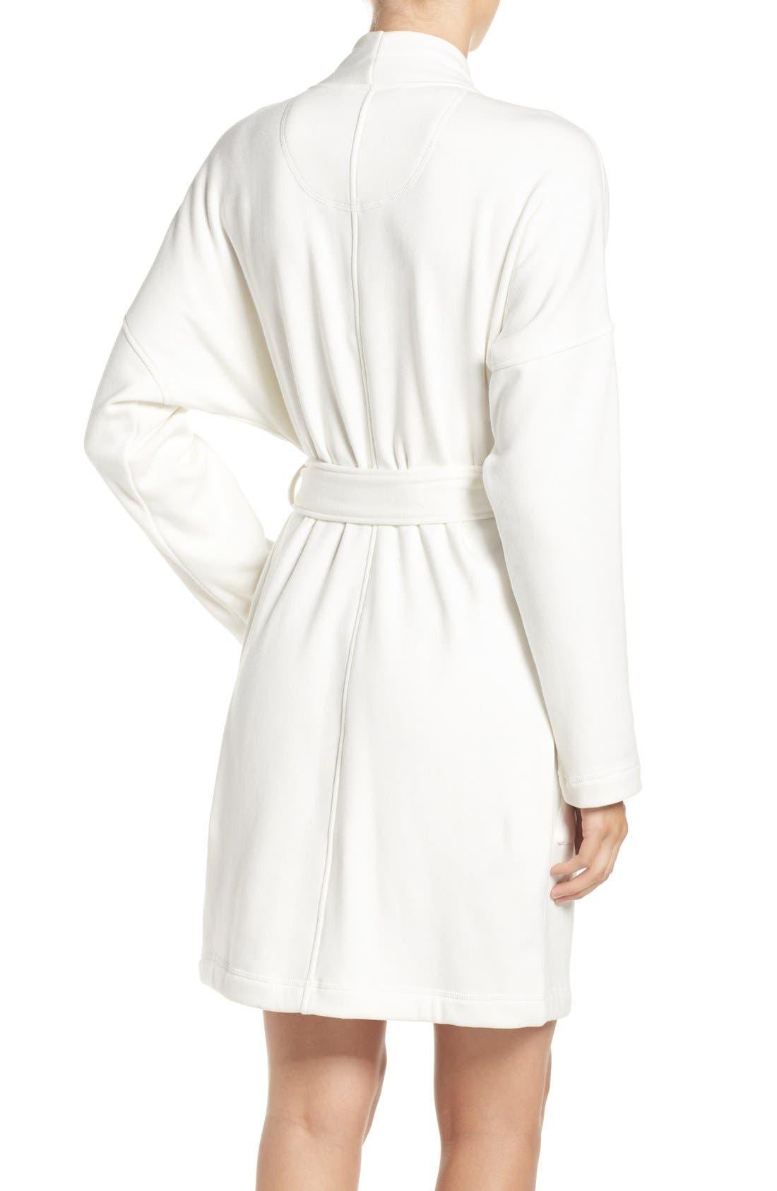 Alternate Image 2  - UGG® 'Braelyn' Fleece Robe