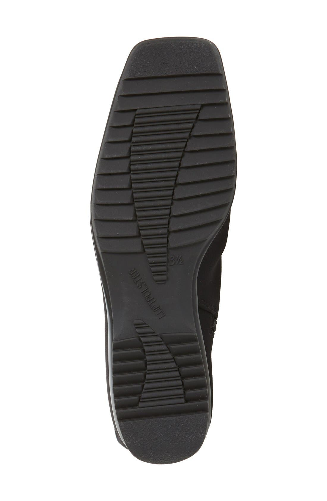 'Paula' Weatherproof Gore-Tex<sup>®</sup> Boot,                             Alternate thumbnail 4, color,                             Black Fabric