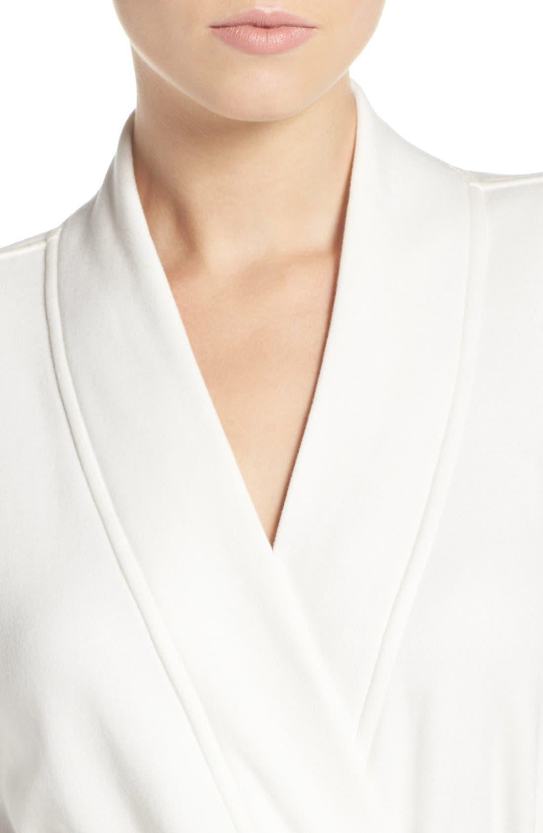 Alternate Image 4  - UGG® 'Braelyn' Fleece Robe