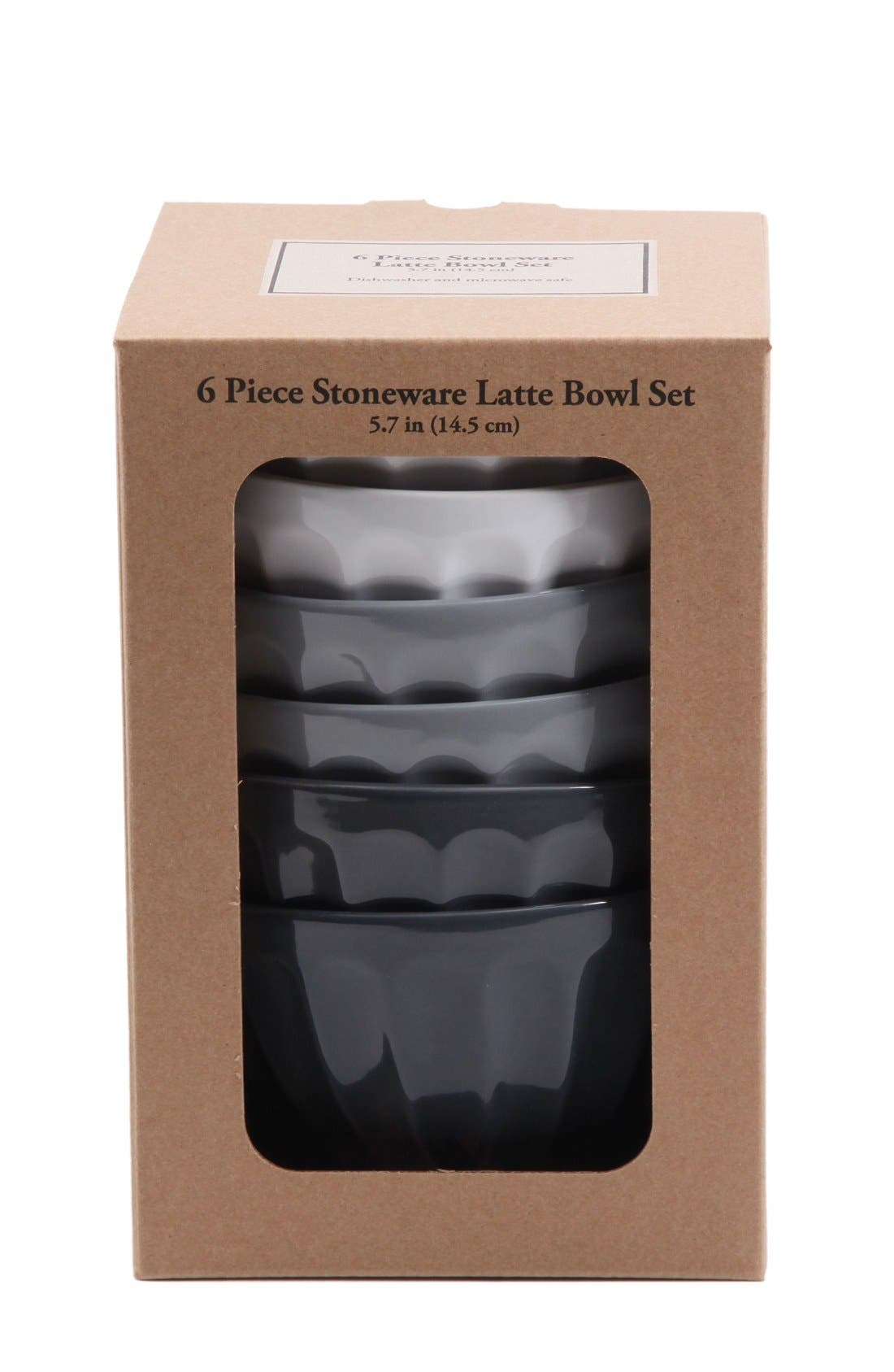 Alternate Image 3  - Gibson Latte Bowls (Set of 6)