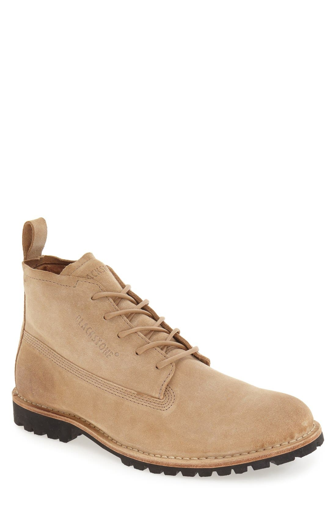Blackstone 'KM07' Plain Toe Boot (Men)