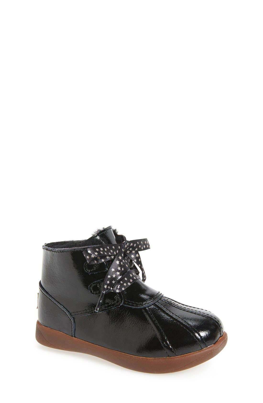 Payten Boot,                             Main thumbnail 1, color,                             Black Patent Leather