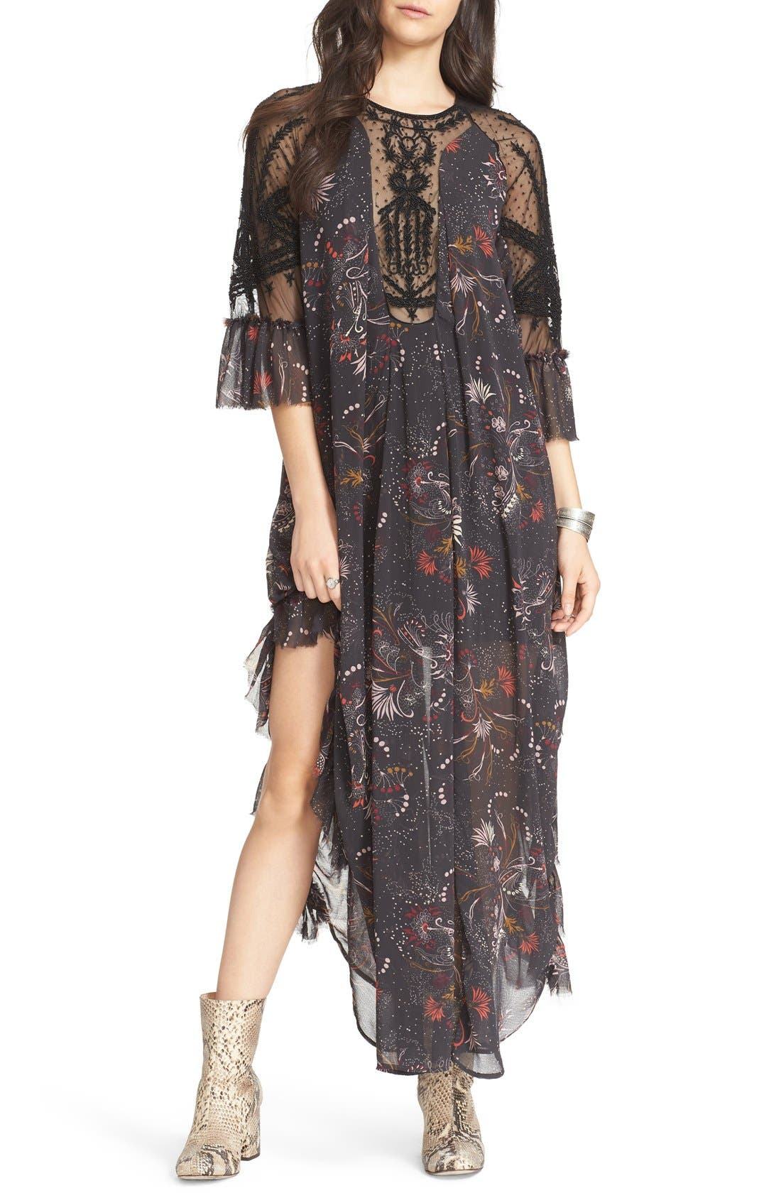 Alternate Image 1 Selected - Free People Spirit of the Wild Maxi Dress