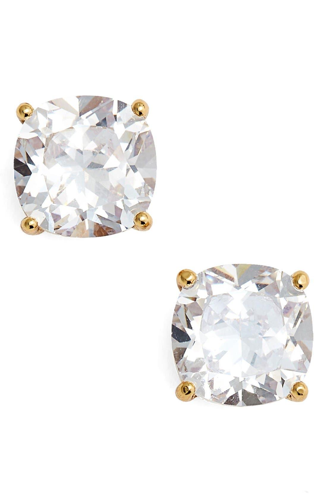 Alternate Image 1 Selected - kate spade new york mini square stud earrings