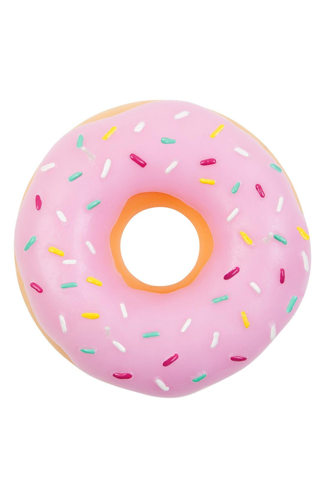 Donut Candle,                             Alternate thumbnail 2, color,                             Pink