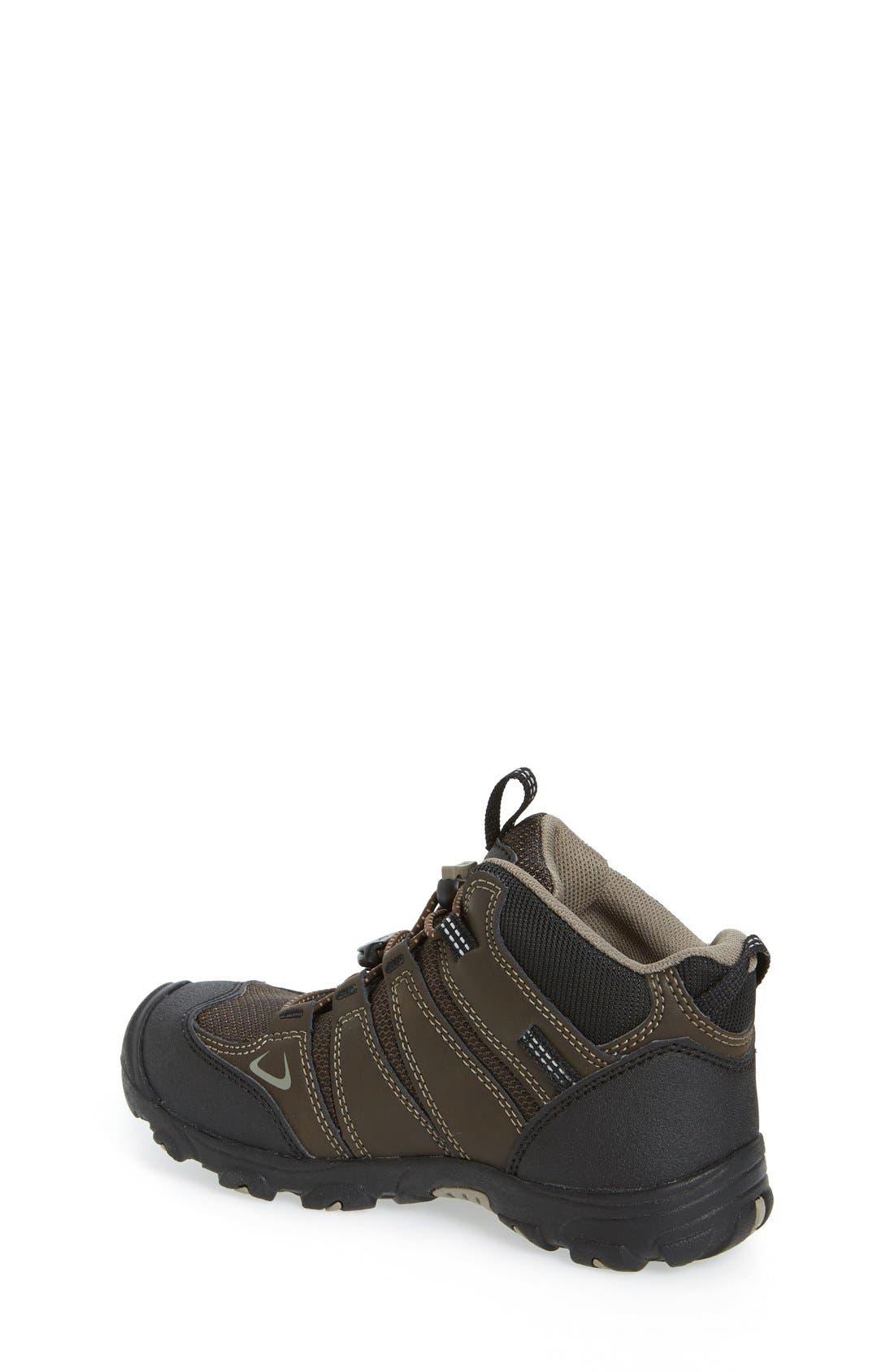'Oakridge' Waterproof Hiking Boot,                             Alternate thumbnail 2, color,                             Brown