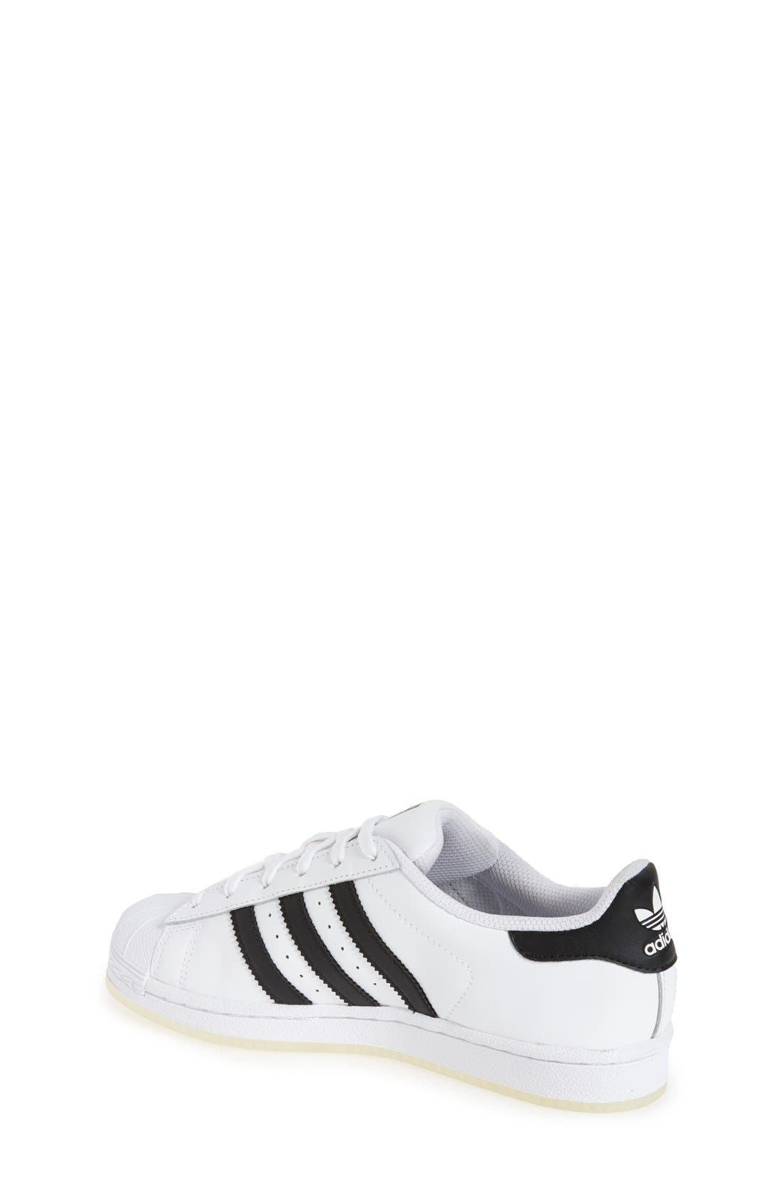 Alternate Image 2  - adidas Superstar Ice Sneaker (Big Kid)