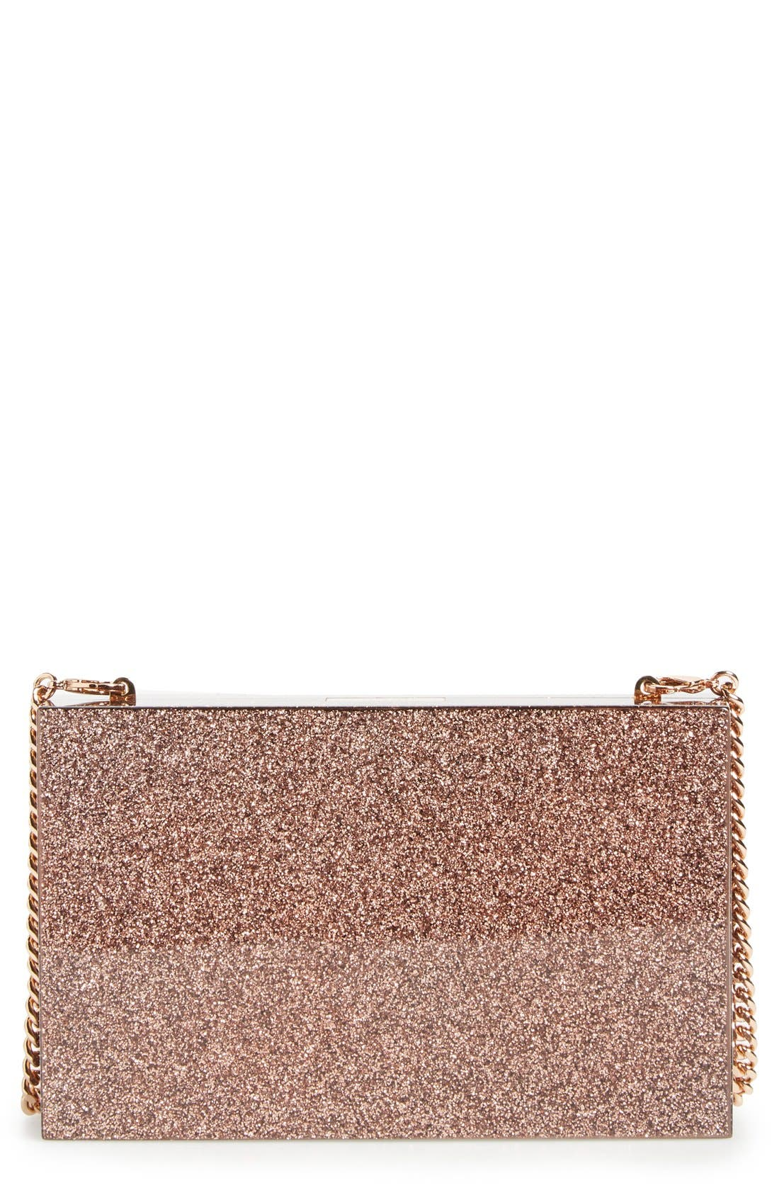 Main Image - Stella McCartney 'Mix Glitter' Box Minaudière