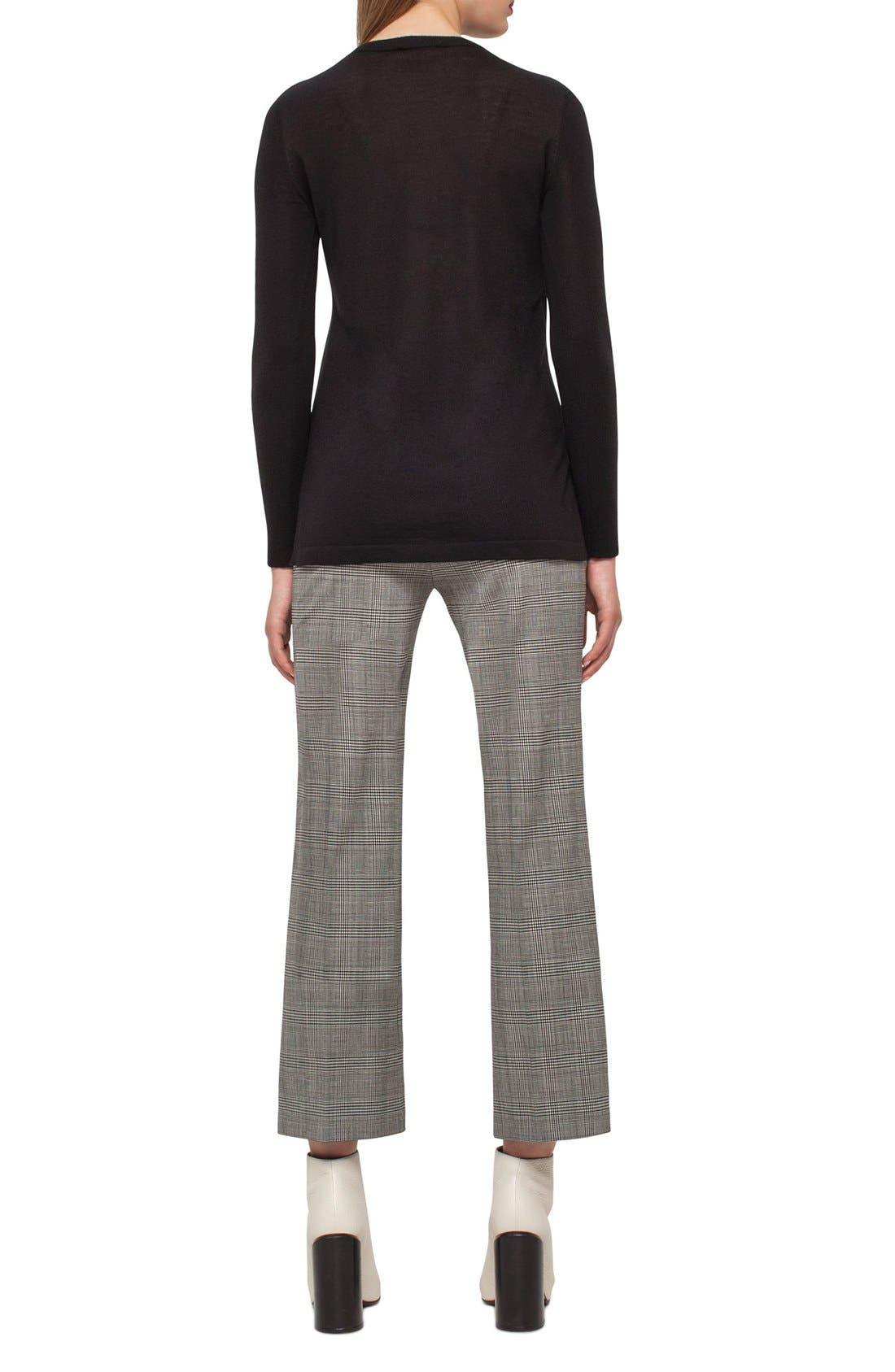 Cashmere Tunic,                             Alternate thumbnail 2, color,                             Black