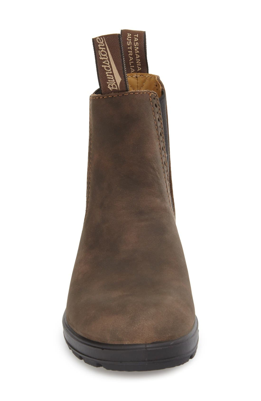 Footwear 'Original Series' Water Resistant Chelsea Boot,                             Alternate thumbnail 3, color,                             Rustic Brown Leather