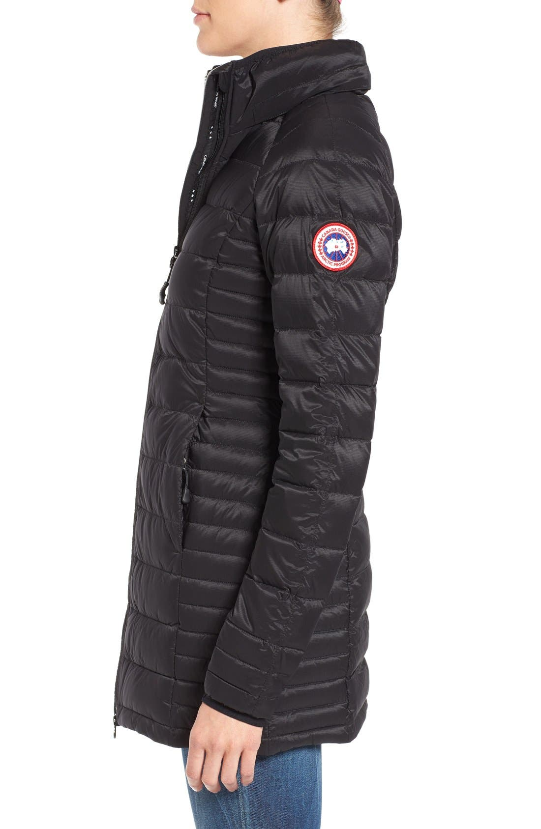Alternate Image 4  - Canada Goose 'Brookvale' Hooded Quilted Down Coat