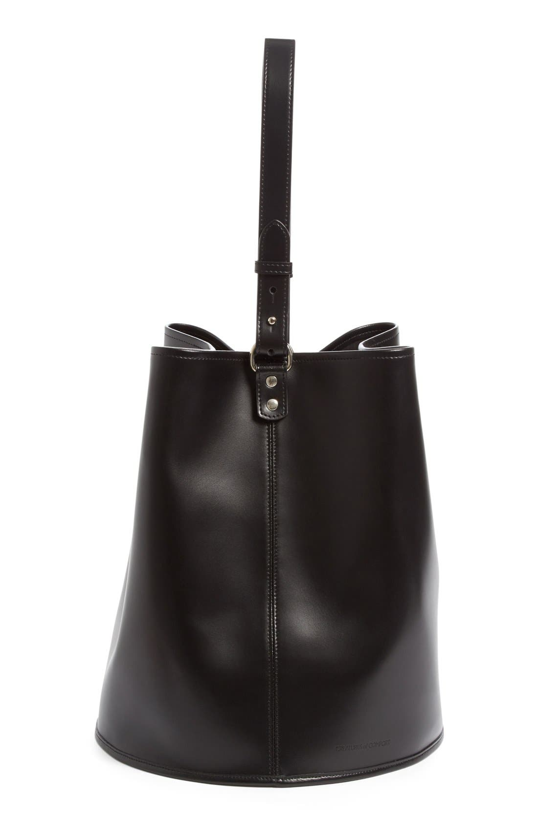 Alternate Image 4  - Creatures of Comfort Large Calfskin Leather Bucket Bag