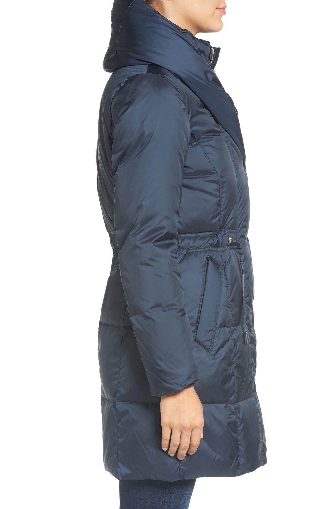 Alternate Image 3  - Cole Haan Shawl Collar Down Coat