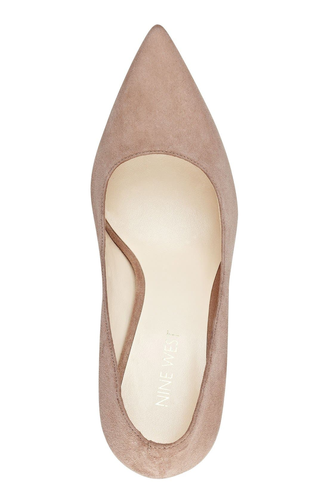 Alternate Image 3  - Nine West 'Jackpot' Pointy Toe Pump (Women)