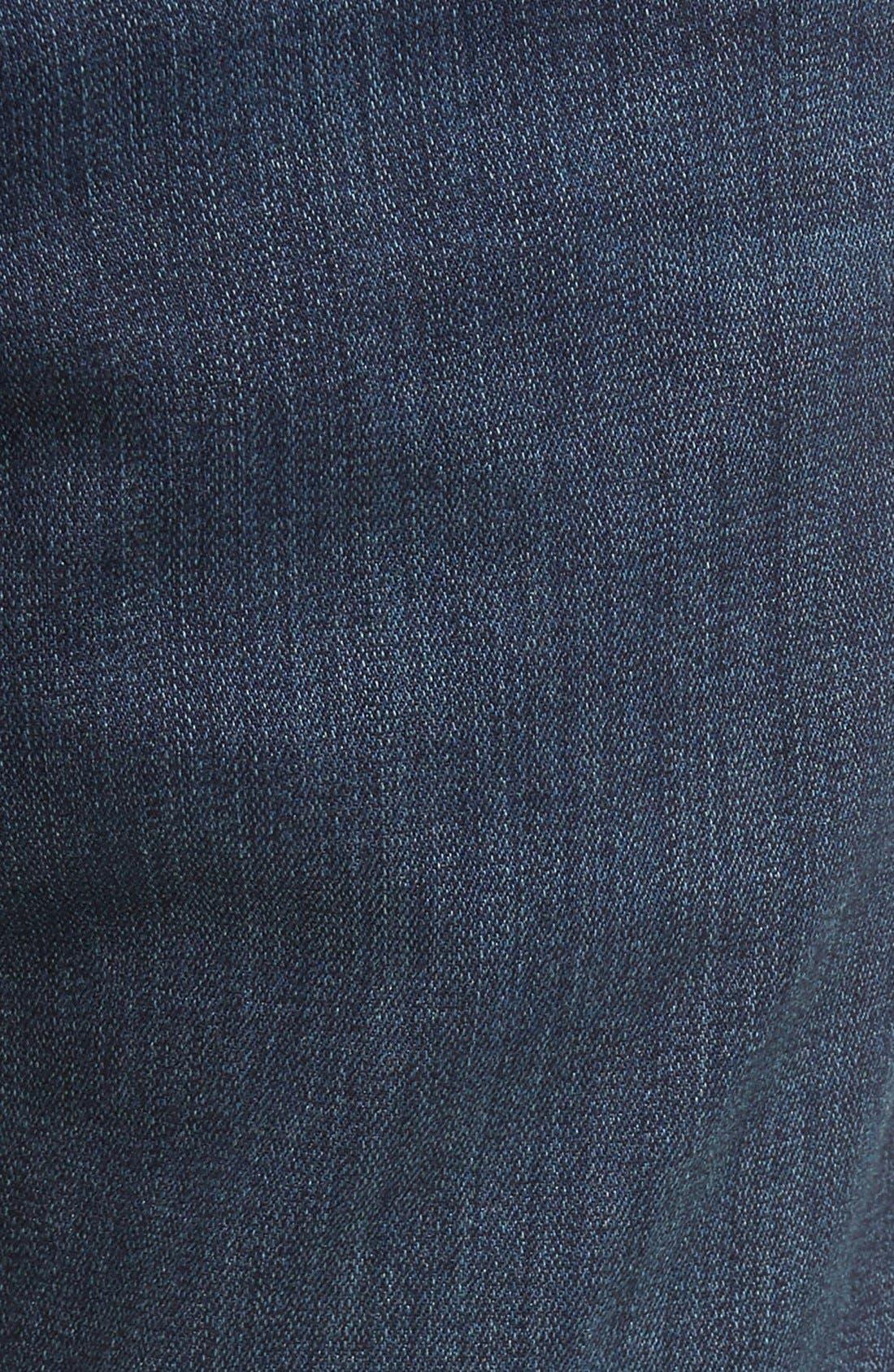 Transcend - Croft Skinny Fit Jeans,                             Alternate thumbnail 6, color,                             After Hours
