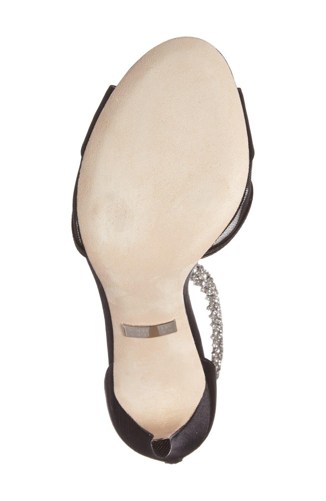 Alternate Image 4  - Badgley Mischka 'Gazelle' Ankle Strap Sandal (Women)