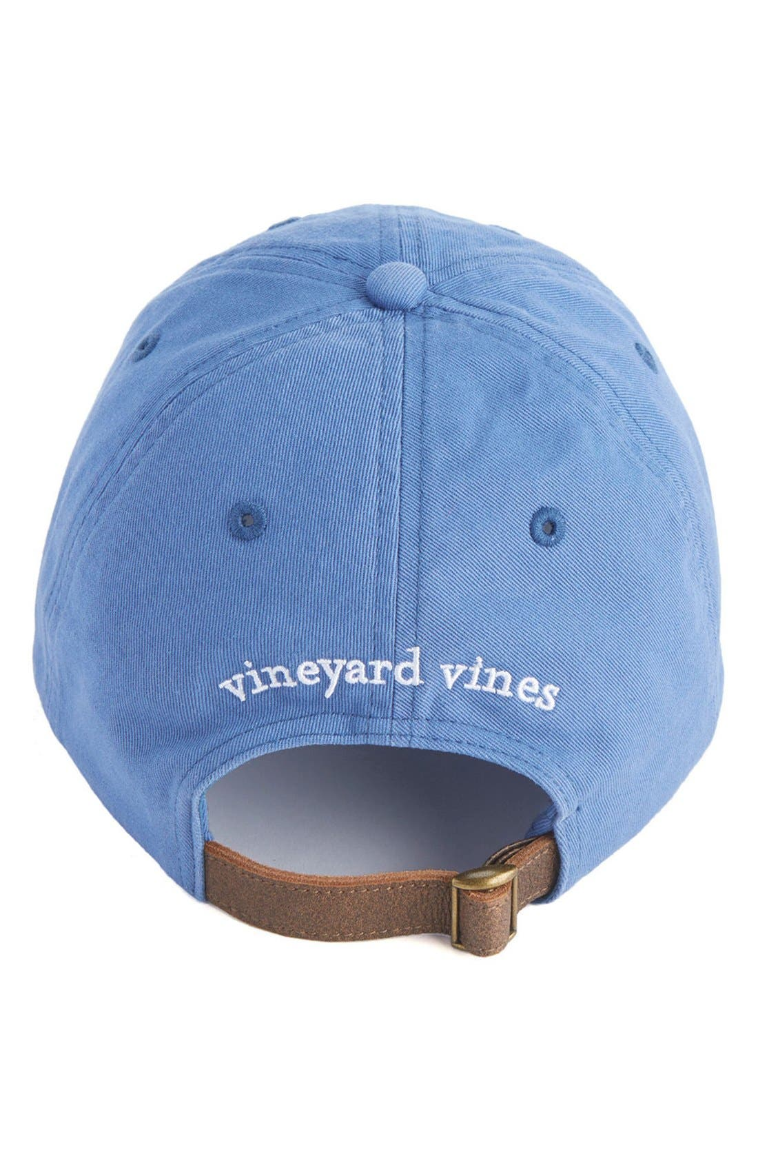 Alternate Image 2  - vineyard vines Flag Whale Logo Baseball Cap