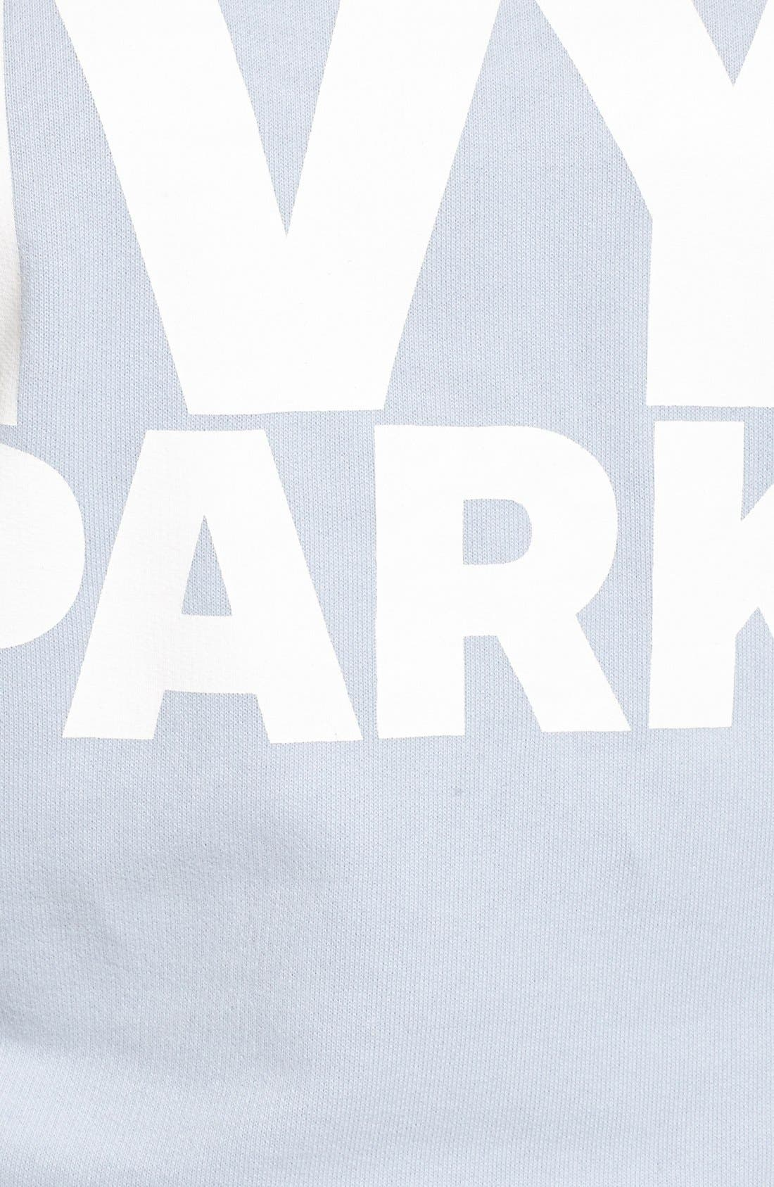 Alternate Image 5  - IVY PARK® Logo Peached Sweatshirt