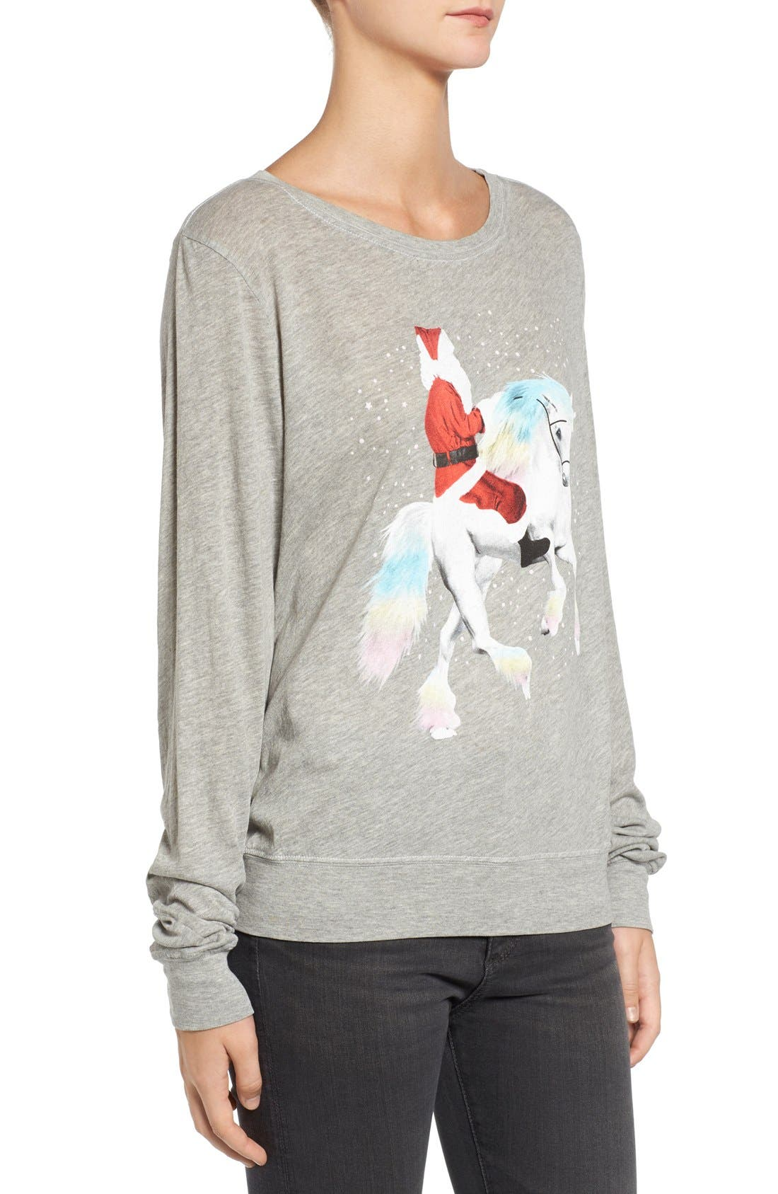 Alternate Image 3  - Wildfox Unicorn Sleigh Tee
