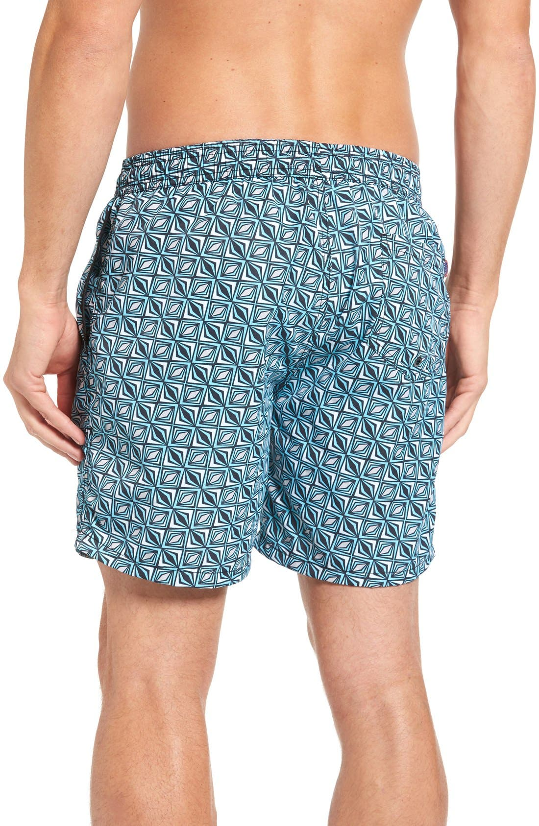 Alternate Image 2  - Mr.Swim Print Swim Trunks