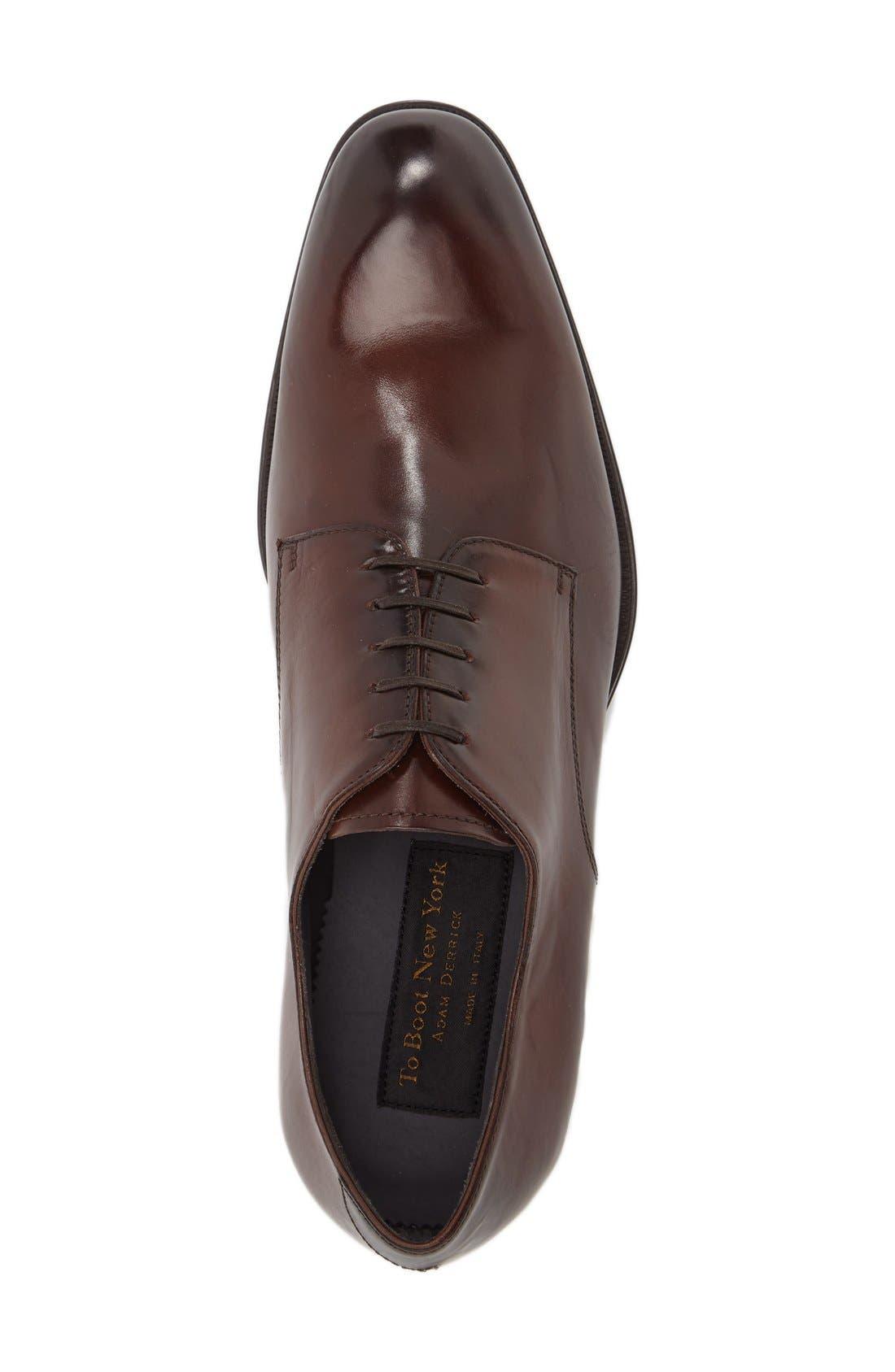 Alternate Image 3  - To Boot New York 'Buchanan' Plain Toe Derby (Men)